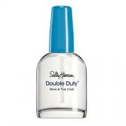 Sally Hansen Consolidarea bazei de bază și strat superior 2in1 polish Duty Double (Base+Top Coat) 13,3 ml