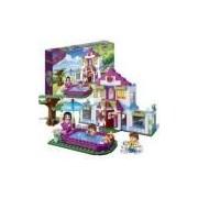Brinquedo Casa De Verao Mundo Encantado 405 Pecas Banbao - Ref 6109