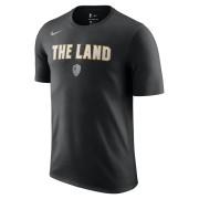 Tee-shirt NBA Cleveland Cavaliers City Edition Nike Dry pour Homme - Noir