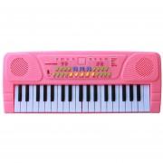 Teclado Electrónico Piano 360DSC HY8837P - Rosa