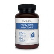 HORNY GOAT WEED PLUS (with MACA) 120 Vegetarian Capsules