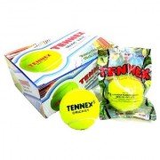 Tennex Cricket Tennis Ball Yellow Light (pack of 06 balls) …