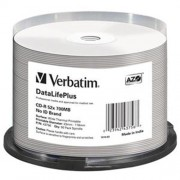 VERBATIM CD-R(50-Pack)/52x/700MB/ThermoPrint/NoID