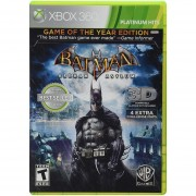 Batman Arkham Asylum Game Of The Year Edition Platinum Hits