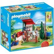 Playmobil Horse Grooming Station Set De Limpieza Para Caballos Multicolor