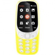 Nokia 3310 Dual SIm Feature Phone (Yellow)