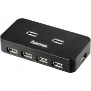 7-portni USB 2.0 hub Hama crna