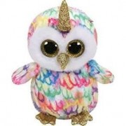 Mascot TY Beanie Boos Unicorn Enchanted Owl (36253)