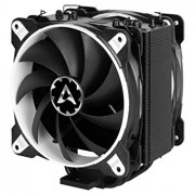 ARCTIC Freezer 33 eSports Edition - Tower CPU Cooler with Push-Pull Configuration I Silent 3-Phase-Motor and wide range of regulation 200 to 1800 RPM I Includes 2 low noise 120 mm fans - White