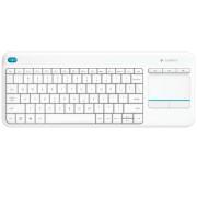 Tastatura Logitech Wireless K400 Plus Alba