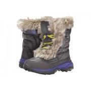 The North Face Nuptse Faux Fur II (ToddlerLittle KidBig Kid) Plum Kitten GreyBlue Iris