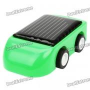 mini coche de juguete con energia solar - color al azar