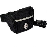 Viaggi travel Unisex black waist bag