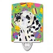 Caroline's Treasures Dalmatian Eggtravaganza Luz de Noche, 6 x 4 Pulgadas, Multicolor