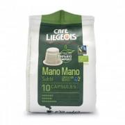 """Café Liégeois Coffee capsules Café Liégeois """"Mano Mano Subtil"""", 10 pcs."""
