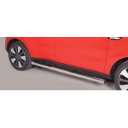 TUBES MARCHE PIEDS INOX D.76 KIA SOUL 2014- - accessoires 4x4 MISUTONIDA