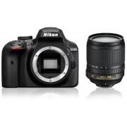 Nikon D3400 + AF-S DX 18-105 VR - Zwart