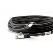 hbb CAT 8.1 S/FTP PiMF LSZH nätverkskabel 3 meter Svart