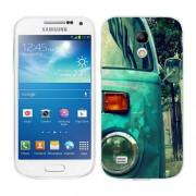 Husa Samsung Galaxy S4 Mini i9190 i9195 Silicon Gel Tpu Model Vintage Car