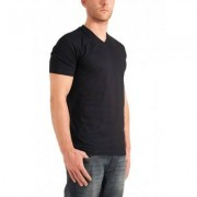 Garage Basis T-Shirt Zwart V-Neck Two Pack ( art 0102)