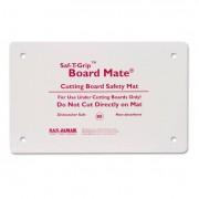 Saf-T-Grip Board-Mates, Thermoplastic Rubber, 18w X 13d X 1/8h, White