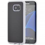 Case Para Celulares, PC TPU Antigravedad Mágico Nano Pegajosa Del Caso Para Samsung Galaxy S7 Edge (Blanco)