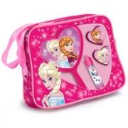 EP Line Frozen lote de regalo II. bolsita 1 ks + bálsamo labial 1 ks + brillo de labios 2x + espejo cosmético 1 ks