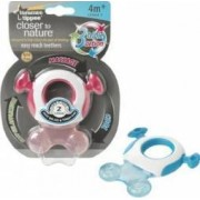 Jucarie bebelusi Tommee Tippee Closer to Nature Blue Gingival Ring Step 2
