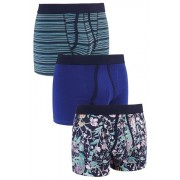 Mens Next Floral A-Fronts Three Pack - Lily