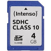 Intenso SD Card Class 10 4GB SDHC