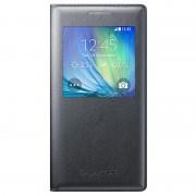 Capa com Cobertura S-View EF-CA500BC para Samsung Galaxy A5 - Preto Carvão