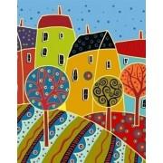 Abstracte Huizen