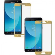 Digiprints Pack Of 2 Tempered Glass Combo For Samsung Galaxy J7 Nxt Samsung Galaxy J7 Nxt Gold tempered glass Screen Guard