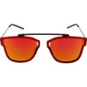 ShadesTree Rectangular Sunglasses(Orange)