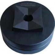 Kivágó szerszámfej 48x48mm keretméretű táblaműszerekhez - D=43x43 HKS-15-43X43 - Tracon