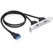 USB 3.0 Hatlapi kivezetes Delock 82963