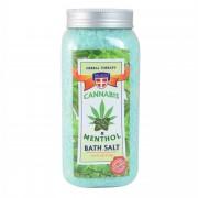 Palacio Konopná sůl do koupele s mentolem, 900 g - Palacio