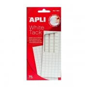 Pastile autoadezive Apli, 75 g, alb Pastile adezive solid