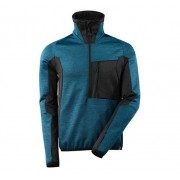 Mascot Advanced Fleece Jacket 17003, XXL, Petrol/Sva