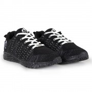 Gorilla Wear Brooklyn Knitted Sneakers (unisex) - Black/White - 39