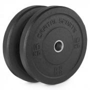 Capital Sports Renit Hi Temp Bumper Plates 50,4 mm Aluminiumkern Gummi 2x10kg