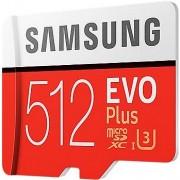 Samsung MicroSDXC EVO Plus 512GB UHS-I U3 + SD adapter