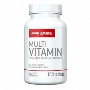 Multi Vitamine 100 tabs - BODY ATTACK