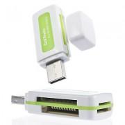 Multifunkčná USB čítačka pamäťových kariet Mikro SD MMC TF M2