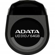 Memoria USB 64GB ADATA UD310 2.0 Durable Tipo Joya Compacta AUD310-64G-RBK