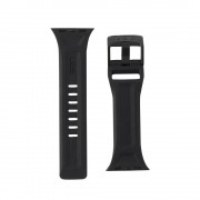 Curea silicon UAG Scout Strap Apple Watch (38/40mm) Black