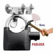 Bentag MASTER Siren Alarm Lock 110Db AntiTheft Security System Door Motor Safety Lock (Black)