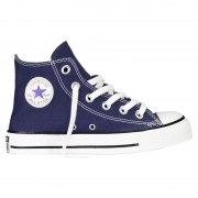 Converse Sneakers Converse All Star Hi Canvas Junior blu (Colore: blu, Taglia: 28)