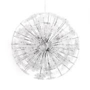 gdegdesign Lustre suspension flocons boule ronde transparente - Snow