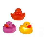 UMKYTOYS Colorful Waterproof Funny Bathroom Bathing Tub Led Ducks Lights Kids Bath Toys